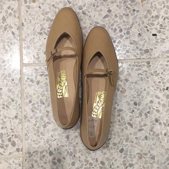 72ec6c557 Salvatore Ferragamo Shoes | Audrey Leather Flat | Poshmark